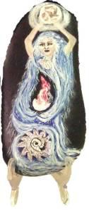 Fantasy Stone Painting